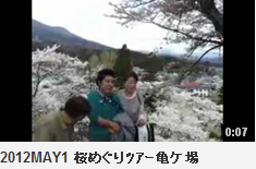 2012MAY1 桜めぐりツアー亀ケ場